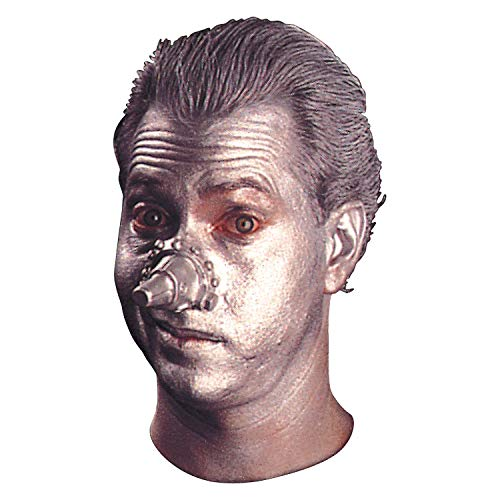 Fun Express - Wiz Nose (New Tin Man Nose) for Halloween - Apparel Accessories - Costume Accessories - Costume Make Up - Halloween - 1 Piece