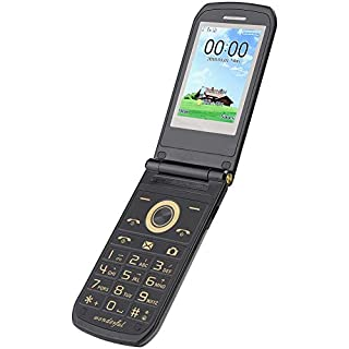 WNSC Flip Phone, Senior Phone, 100-240V for Child Elderly(U.S. regulations)