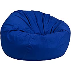 Flash Furniture Oversized Solid Royal Blue Bean Bag Chair