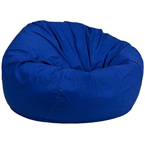 Kids Royal Chair (Flash Furniture Oversized Solid Royal Blue Bean Bag Chair)