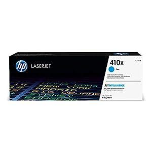 HP 410X CF411X Toner Cartridge Works with HP Color LaserJet Pro M452 Series, M377dw, MFP 477 Series Cyan High Yield