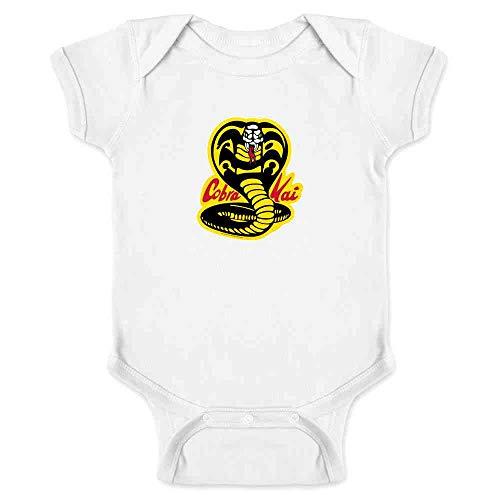 Cobra Kai Karate Kid Dojo Retro Martial Arts White 12M Infant -