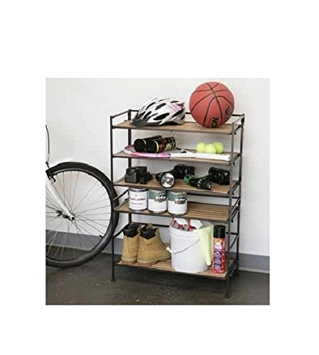 Seville Classics® 3 Tier Bamboo Multi Purpose Storage Rack