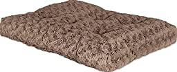 MidWest Quiet Time Pet Bed Deluxe Mocha Ombre Swirl 35\