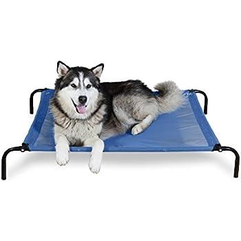 Amazon.com : Coolaroo The Original Elevated Pet Bed, Large ...