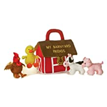 My Barnyard Friends Baby Talk Activity Animals with Sound and Carrier