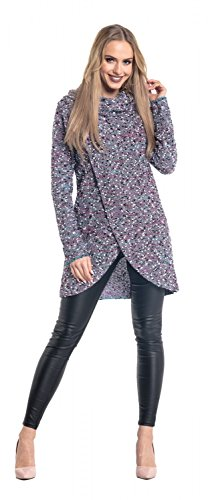 Pull Empire Couches B Cache Col en Maille Pullover Coeur Glamour 5ST6dqnx5