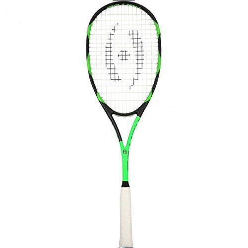 Harrow 66070219 2016 Vibe Squash Racquet, Black/Lime