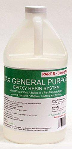 Max General Purpose Grade Epoxy Resin System 1 5 Gallon