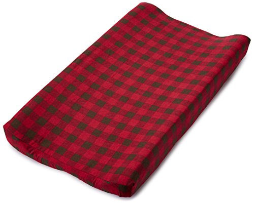 Northwoods Pinecone (Trend Lab Northwoods Changing Pad Cover, Buffalo Check)