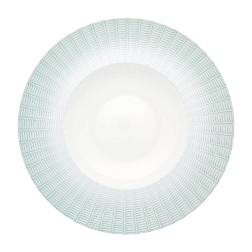 Vista Alegre Venezia Rimmed Soup Plate, Set of 4 (Vista Rimmed Bowl Soup)