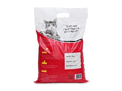 Petville Exlusive Fast Clumping Cat Litter, Lavender, 5 kg