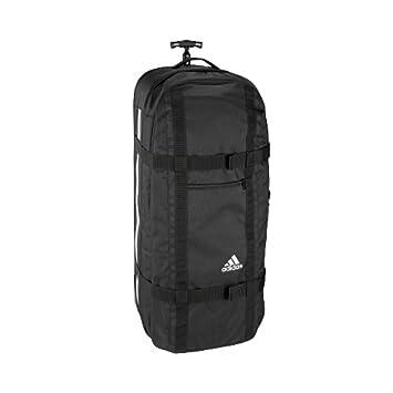 a6464220ac17 adidas XXL Cricket Kit Chest Coffin Wheel Bag Black  White  Amazon.co.uk   Sports   Outdoors