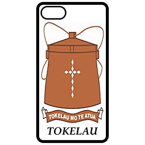 Tokelau - Coat Of Arms Flag Emblem Black Apple Iphone 6 (4.7 Inch) Cell Phone Case - Cover
