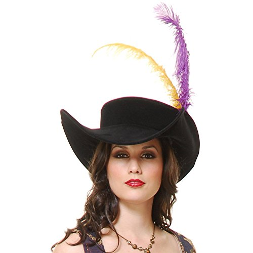 Capitano Hat Adult Accessory Size One-size