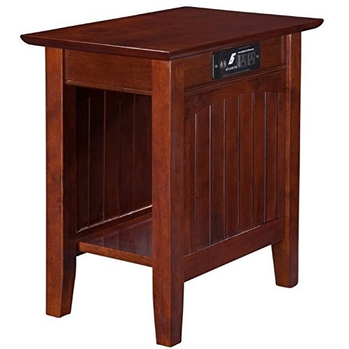 top 5 best end tables power outlet for sale 2017 product realty today. Black Bedroom Furniture Sets. Home Design Ideas