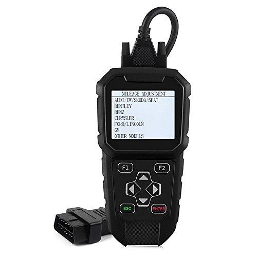 mt401 odómetro corrección herramienta mt401 OBDII OBD2 kilometraje ajuste + obd2 lector de código scan tool: Amazon.es: Coche y moto
