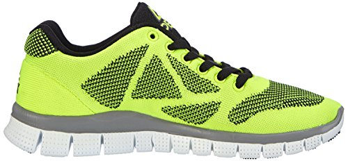 PEAK Sport Europe F Lites Yellow- Unisex Sneaker Unisex-Erwachsene Sneakers Gelb (Yellow/Black)