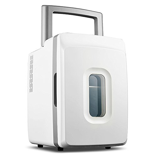 ADINIKE Portable with Handles Mini Fridge Cooler and Warmer Travel Compact Refrigerators 12-liter(Auto Car Boat...