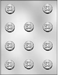CK Products 1-3/8-Inch 50 Mint Chocolate Mold