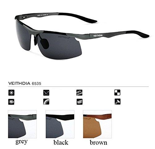 Veithdia polarizadas gafas de sol deportivas de aluminio: Amazon.es: Ropa y accesorios