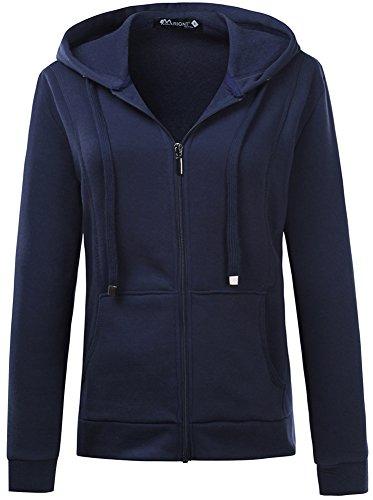 Zip Front Hoodie Sweatshirt - 3