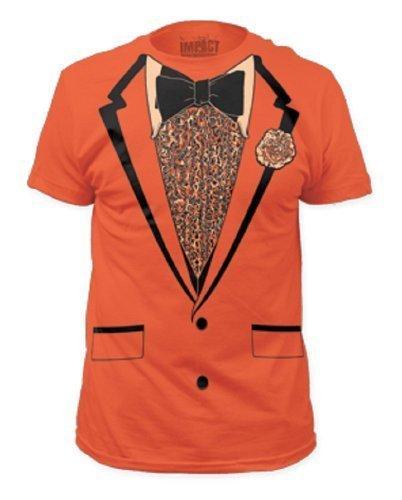 Impact Orange Retro Prom Mens Tee XXL