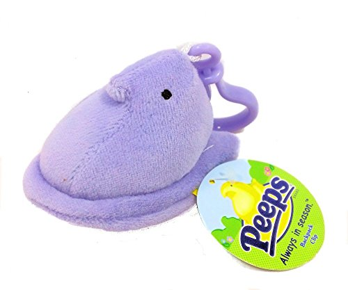 Peeps Chick Plush Mini with Backpack Clip - Lavender
