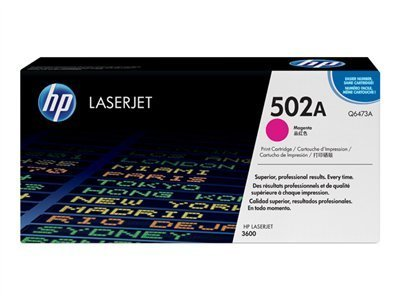 Q6473a Laser Hp Magenta (HP Q6473A - Toner cartridge - 1 x magenta - 4000 pages - for Color LaserJet 3600, 3600dn, 3600n -)
