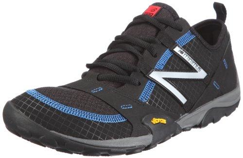 New Balance MO10BK - Zapatillas de correr de material sintético hombre negro - Schwarz (BLACK/BLUE 81)
