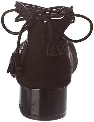 Bailarinas Noir Mujer Punta Noir para CHATTAWAK Jade con Cerrada RqYp5w
