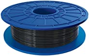 Dremel PLA 3D Printer Filament, 1.75 mm Diameter, 0.5 kg Spool Weight, Black