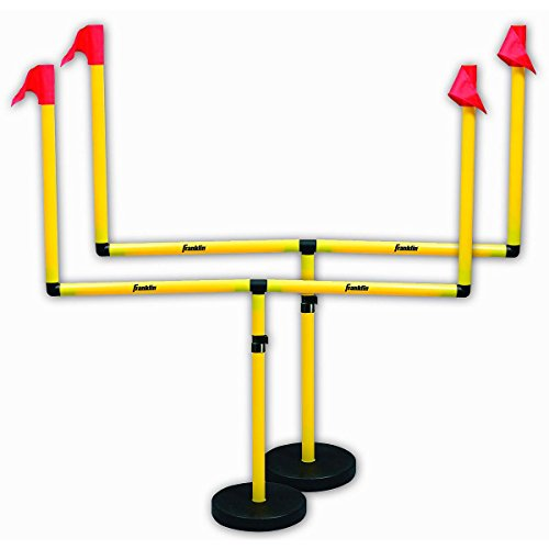Franklin Sports Youth Football Adjustable Two Goal Post Set ()