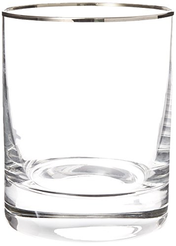 (Lenox Timeless Platinum DOF Glass, Clear)