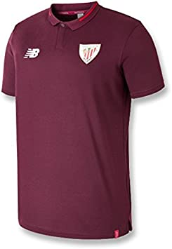 New Balance - Athletic Bilbao Polo 18/19 Hombre Color: Granate ...