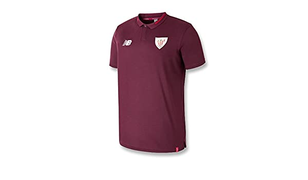 New Balance - Athletic Bilbao Polo 18/19 Hombre Color: Granate ...