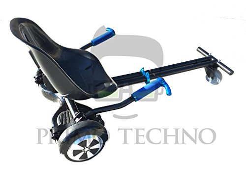 Primo Hover Kart Self Balance Scooter Drifting Mini Cart Conversion Kit Attachment - Hover Board Not Included