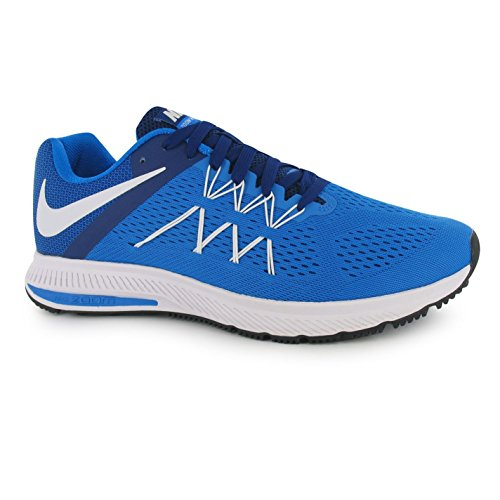 Nike Zoom winflo 3Laufschuhe Herren blau/weiß Fitness Trainer Sneakers