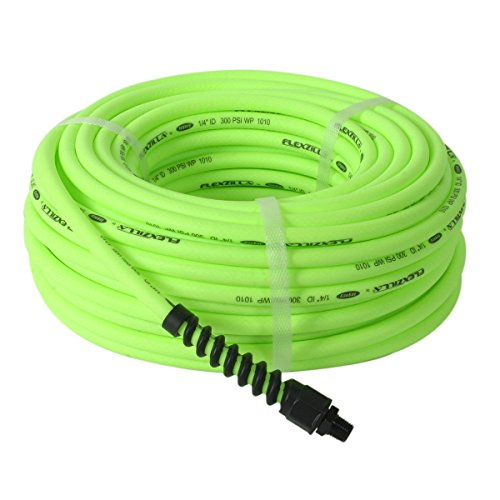 Flexzilla Pro Air Hose, 1/4 in. x 100 ft., Heavy Duty, Light