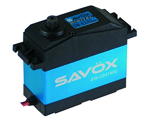 Savöx SW0241MG Waterproof 5th Scale Digital Servo .17/555 High Voltage