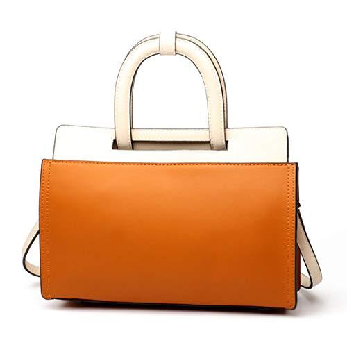 couleur Sac mode cuir à à Yy3 Jessiekervin orange en orange la contrasté bandoulière qwZSvxC