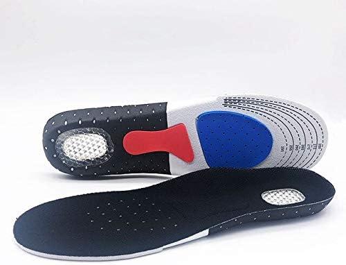Sport Laufen Silikon Gel Einlegesohlen Für Füße Mann Frauen Für Schuhe Sohle Orthopädische Auflage Massieren Stoßdämpfung Arch Support