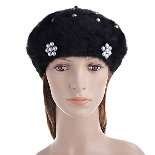 Vbiger Beanie Hat Beret Hat Winter Hat Casual f...