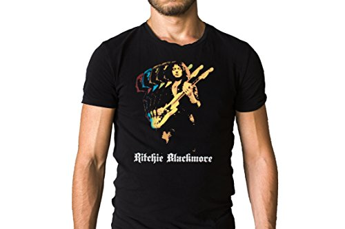 Ritchie Blackmore Live Performance Guitar Solo Poster T-Shirt