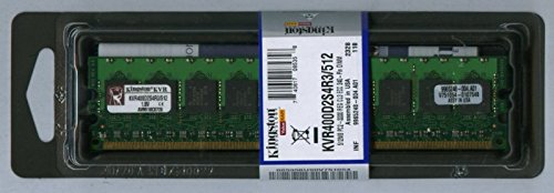 512mb Pc2 3200 240 Pin - Kingston KVR400D2R3/512 512MB DDR2-400 PC2-3200 Registered ECC Memory Retail