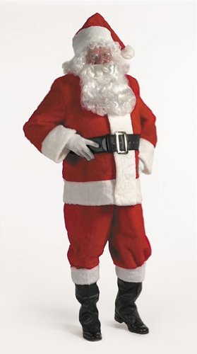 Halco 5596 Popular Rental Quality Santa Suit- Size 50-56 jacket up to 56 waist ()