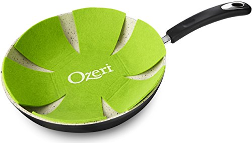 12 Stone Earth Frying Pan by Ozeri, with 100% APEO & PFOA-Free Stone-Derived Non-Stick Coating from Germany