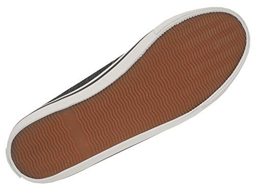 Anthracite Basses Foncé Delave Toile Ellesse Busy Canvas Chaussures Gris nXZxa0R