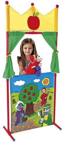 Teatro de Plástico + 4 Marionetas Caperucita Roja: Amazon.es: Juguetes y juegos