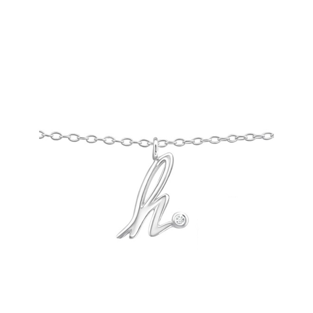 Worldjewelry 925 Sterling Silver Girls h Silver Anklets